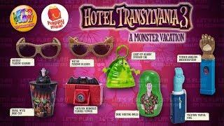 2018 Hotel Transylvania 3 McDonalds Happy Meal Complete Set Of 8 Toys