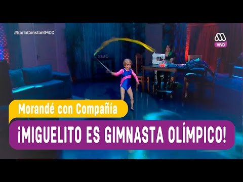 Miguelito es gimnasta olímpico - Morandé con Compañía 2016