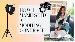 How I Manifested A Modeling Contract | Law Of Attraction W NAOMI BANKS