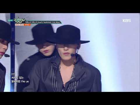 뮤직뱅크 Music Bank - HALA HALA (Hearts Awakened, Live Alive) - ATEEZ(에이티즈).20190118