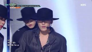 Gambar cover 뮤직뱅크 Music Bank - HALA HALA (Hearts Awakened, Live Alive) - ATEEZ(에이티즈).20190118