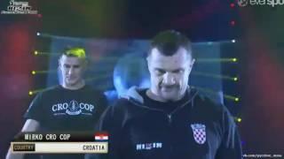 Последний бой КРОКОПА Мирко Крокоп vc Амира Алиакбари финал гран при rizin ff 4 .