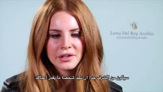 Lana Del Rey - MTV BuzzWorthy Interview (Full) لقاء لانا دل ري - مترجم