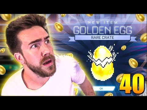 Opening 40 *NEW* Rocket League GOLDEN EGGS!