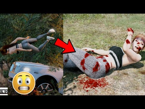 GTA 5 REAL LIFE MOD SS3 #2  MIA GOT INTO A CAR ACCIDENT 😢 (GTA 5 Mods)