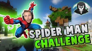 THE SPIDER-MAN CHALLENGE! ( Hypixel Skywars )
