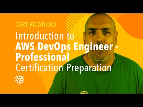 AWS Certified DevOps Engineer Training: Introduction - YouTube