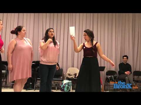 Snippet of me in rehearsal for Martina Arroyo's Prelude to Performance, singing the role of Meg Page in Verdi's Falstaff