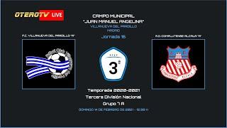 R.F.F.M - TERCERA DIVISIÓN NACIONAL - Jornada 16 (Grupo 7A) - F.C. Villanueva del Pardillo 1-0 A.D. Complutense Alcalá