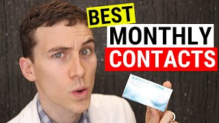 Best Monthly Contact Lenses (My 3 Favorites) | Doctor Eye Health