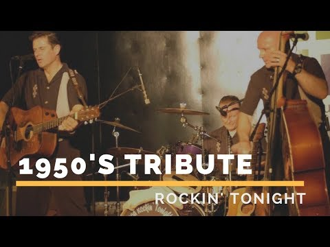 1950s Band - Rockin' Tonight Video