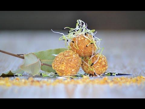 Receta Bolitas de Foie con Kikos