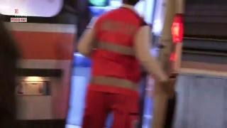 Roma, incidente nel metrò: feriti tifosi Cska Mosca