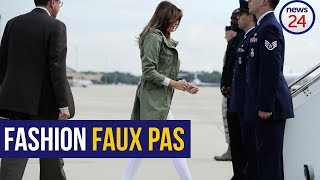 First Lady's Jacket: A Tone-Deaf Expression is Never Silent