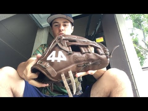 44 pro gloves outfield review. 12.75 fastback outfield glove.