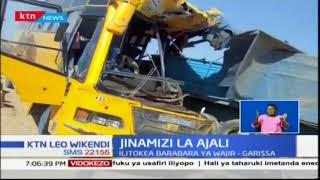 Jinamizi la Ajali: Watu wanne wafariki kwenye ajali barabara ya Wajir-Garissa