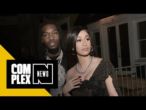 Cardi B Defends Offset Amid Backlash for Rapping 'Queer' Lyric