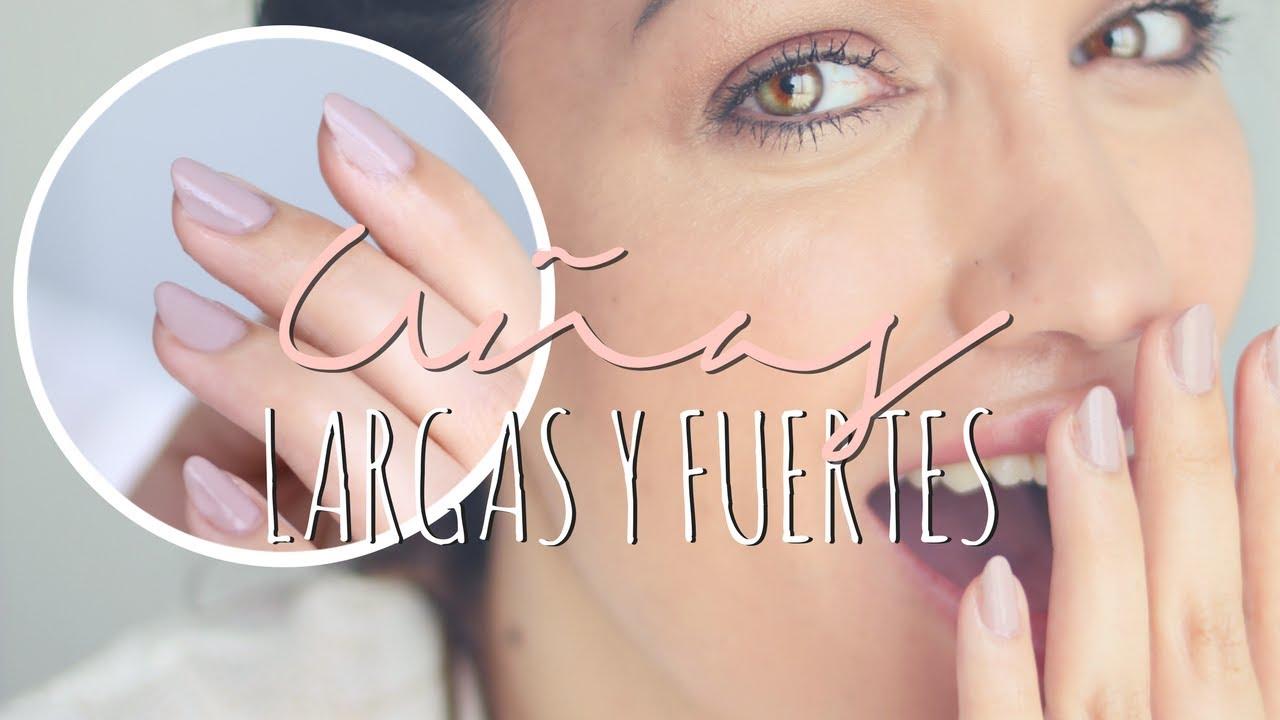 UÑAS FUERTES Y LARGAS EN 1 MES - Cómo cuido y pinto mis uñas *AD