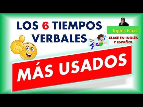 LOS TIEMPOS VERBALES MAS USADOS EN INGLÉS - CLASE EN INGLÉS Y ESPAÑOL - INGLÉS FÁCIL