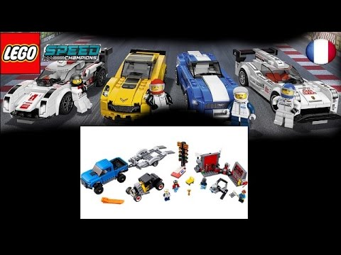 Vidéo LEGO Speed Champions 75875 : Ford F-150 Raptor et le bolide Ford Modèle A