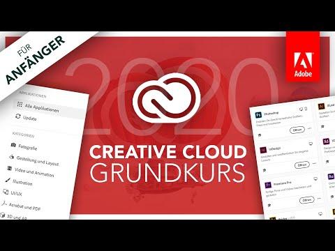 Adobe Creative Cloud 2020 (Grundkurs für Anfänger) Alles was du wissen musst // Tutorial (Deutsch)