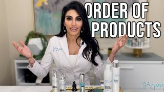 Skincare Routine: Order of Products