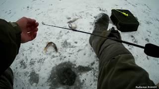 зимняя рыбалка!ловля окуня на балансир, и мормышку