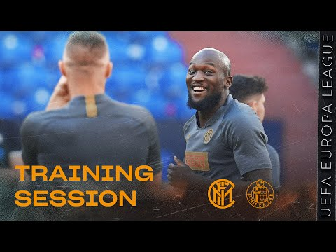 INTER vs GETAFE | PRE-MATCH TRAINING SESSION | 2019-20 UEFA EUROPA LEAGUE ⚫🔵