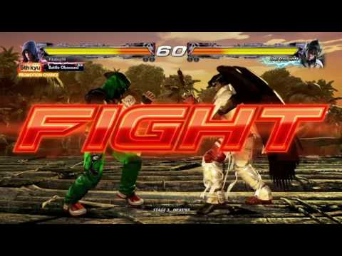 Tekken 7:Jin Kazama Arcade Gameplay - игровое видео смотреть онлайн
