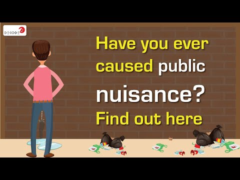Have you ever caused public nuisance? Find out here. || Decode S3E7 || Factly
