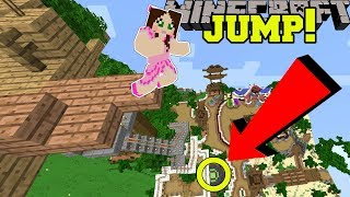 Minecraft: CAN WE MAKE THIS INSANE JUMP?!? - POPULARMMOS WORLD [4]