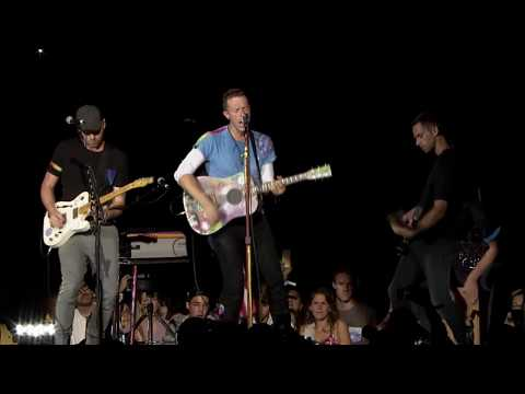 COLDPLAY - God Put a Smile Upon Your Face  (Acoustic Live 2017)