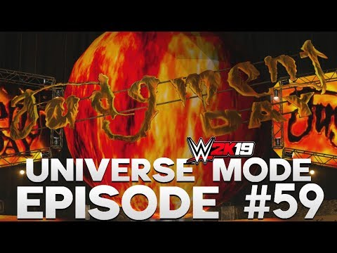 WWE 2K19 | Universe Mode - 'JUDGMENT DAY PPV!' (PART 1/4) | #59