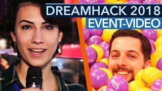 Dreamhack Leipzig 2018 - Michi & Natascha auf Deutschlands größter LAN-Party