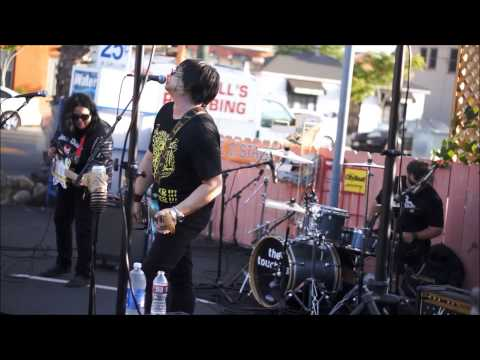 the touchies live at the Adams ave. Art Festival
