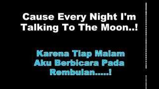 Talking To The Moon   Bruno Mars Lyrics   Terjemah