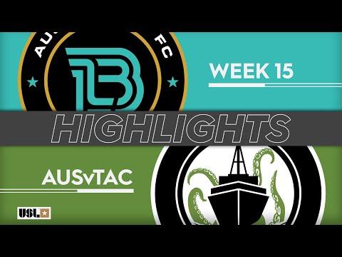 Austin Bold - Tacoma Defiance 1:1. Видеообзор матча 16.06.2019. Видео голов и опасных моментов игры