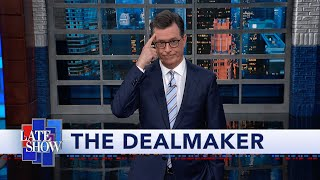"Against the advice of his advisors, the President sought to demonstrate his peacemaking skills by inviting Taliban leaders to negotiate in person at Camp David. #LSSC #Monologue #Colbert  Subscribe To ""The Late Show"" Channel HERE: http://bit.ly/ColbertYouTube For more content from ""The Late Show with Stephen Colbert"", click HERE: http://bit.ly/1AKISnR Watch full episodes of ""The Late Show"" HERE: http://bit.ly/1Puei40 Like ""The Late Show"" on Facebook HERE: http://on.fb.me/1df139Y Follow ""The Late Show"" on Twitter HERE: http://bit.ly/1dMzZzG Follow ""The Late Show"" on Google+ HERE: http://bit.ly/1JlGgzw Follow ""The Late Show"" on Instagram HERE: http://bit.ly/29wfREj Follow ""The Late Show"" on Tumblr HERE: http://bit.ly/29DVvtR  Watch The Late Show with Stephen Colbert weeknights at 11:35 PM ET/10:35 PM CT. Only on CBS.  Get the CBS app for iPhone & iPad! Click HERE: http://bit.ly/12rLxge  Get new episodes of shows you love across devices the next day, stream live TV, and watch full seasons of CBS fan favorites anytime, anywhere with CBS All Access. Try it free! http://bit.ly/1OQA29B  --- The Late Show with Stephen Colbert is the premier late night talk show on CBS, airing at 11:35pm EST, streaming online via CBS All Access, and delivered to the International Space Station on a USB drive taped to a weather balloon. Every night, viewers can expect: Comedy, humor, funny moments, witty interviews, celebrities, famous people, movie stars, bits, humorous celebrities doing bits, funny celebs, big group photos of every star from Hollywood, even the reclusive ones, plus also jokes."