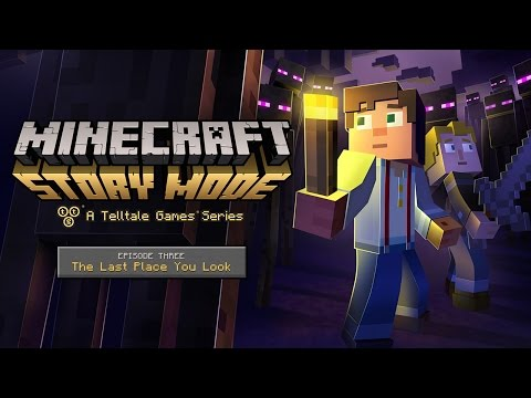 Minecraft: Story Mode - Episode 3 Trailer thumbnail
