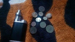 Поиск монет мелаллоискателем!!!Как я бросил курить Full HD