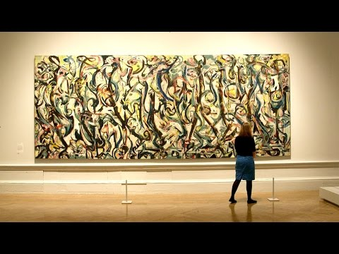 Jackson Pollock in 60 seconds? Yes, thanks to Tim Marlow and his Abstract Expressionism stories