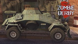 Игры стрелялки Zombie Derby 2 игры про зомби мультфильмы для мальчиков