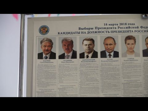 Polling stations open in Moscow for presidential election