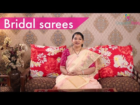 "<p style=""color: red"">Video : </p>New Bridal Pattu sarees Collections 