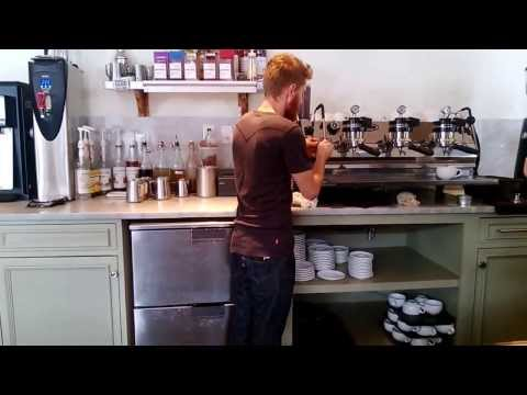 The Making of my Cappuccino / Barnie's CoffeeKitchen® / National Coffee Day