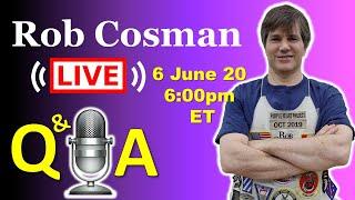 Rob Cosman Live: Q & A (20 June 2020)