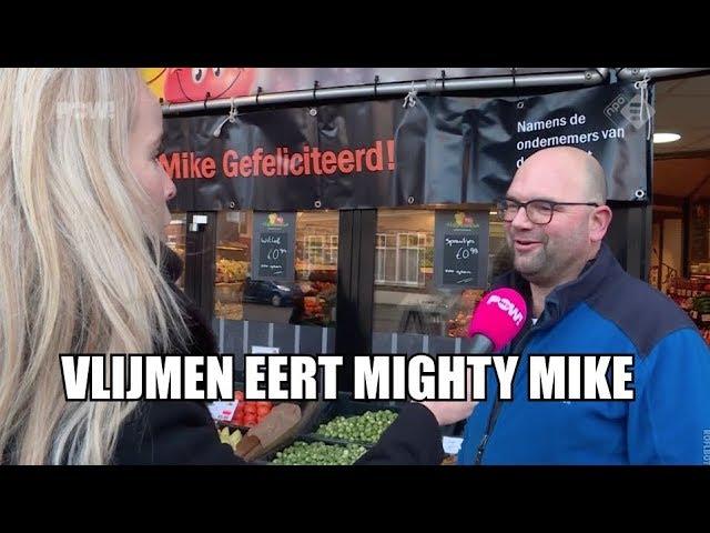 Vlijmen eert Mighty Mike