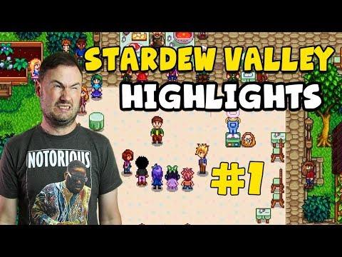 Stardew Valley - Highlights #1 - Massive Egg Hunt Rage