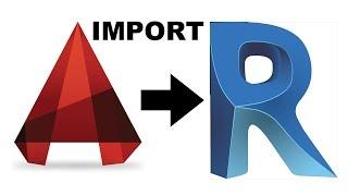AutoCAD to Revit Import