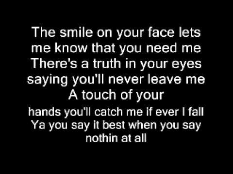 When You Say Nothing At All By Keith Whitley Chords